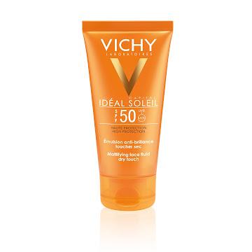 Protector Solar Vichy Ideal Soleil Toque Seco SPF 50+ 50 ml