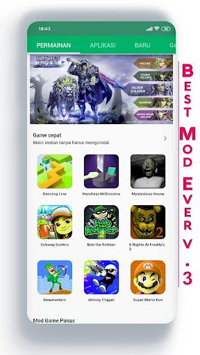New Happy App  Mod storage information screenshot 1