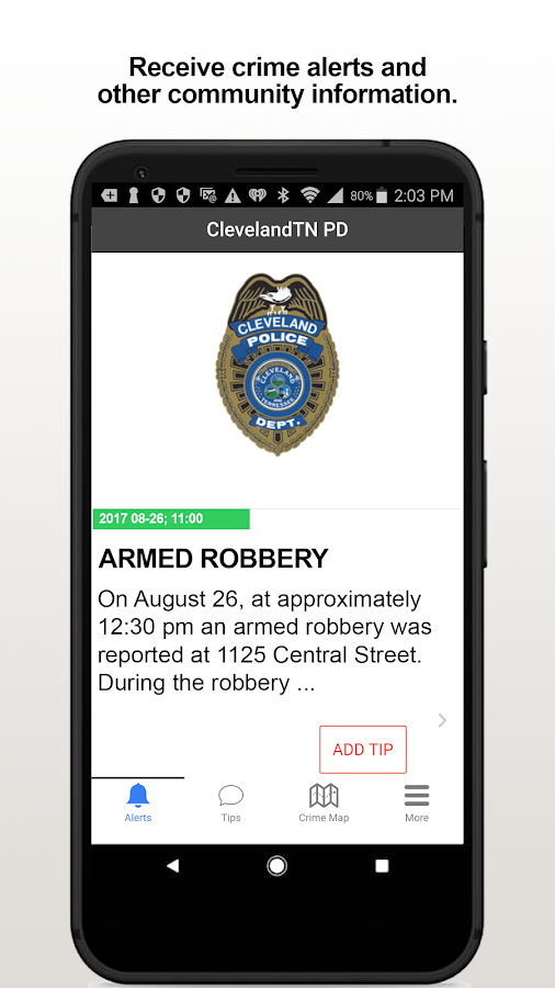 ClevelandTN PD- screenshot