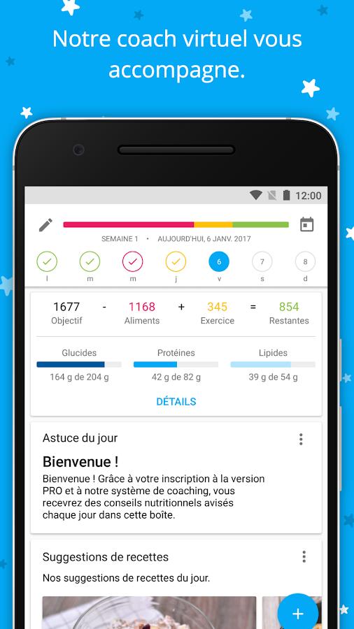 yazio compteur de calories pour r gime et maigrir applications android sur google play. Black Bedroom Furniture Sets. Home Design Ideas