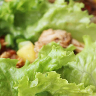 Slow Cooker P.F. Chang's Chicken Lettuce Wraps