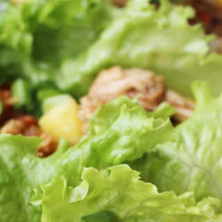Slow Cooker P.F. Chang's Chicken Lettuce Wraps.