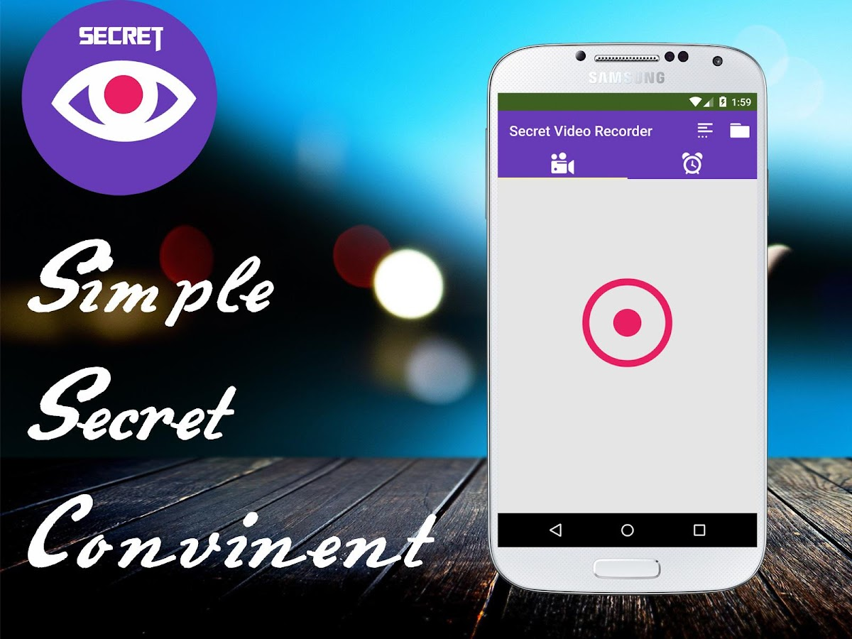 Secret Video Recorder Pro- screenshot