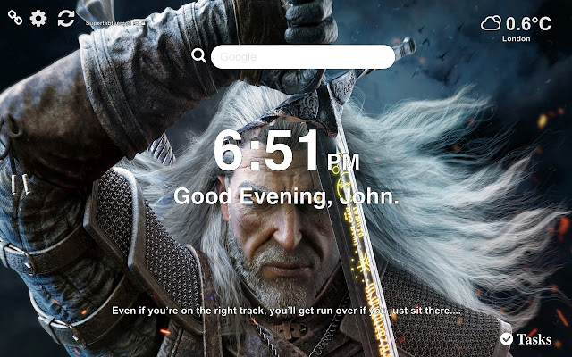 The Witcher 3 HD Wallpapers New Tab