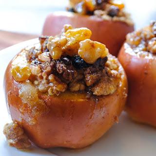 Walnut-Stuffed Baked Apples.