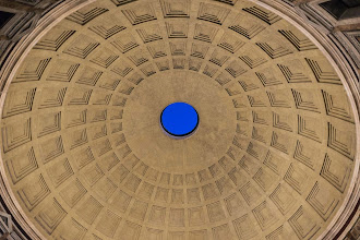 Photo: Dome of the Pantheon, Rome