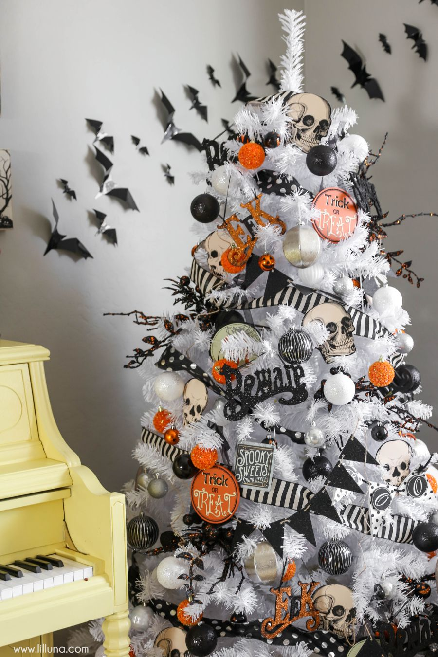 Halloween Tree DIY Decorations Ideas