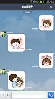 Screenshot of 솜이곰이 이모티콘