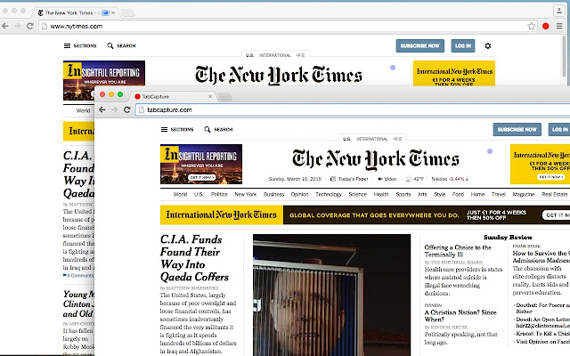TabCapture Screen Sharing