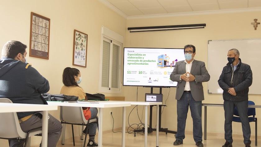 Antonio J. Rodríguez ha inaugurado el curso.