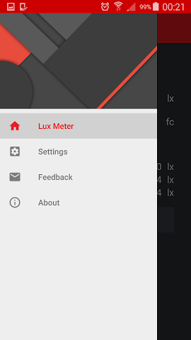 android Lux Meter Screenshot 3
