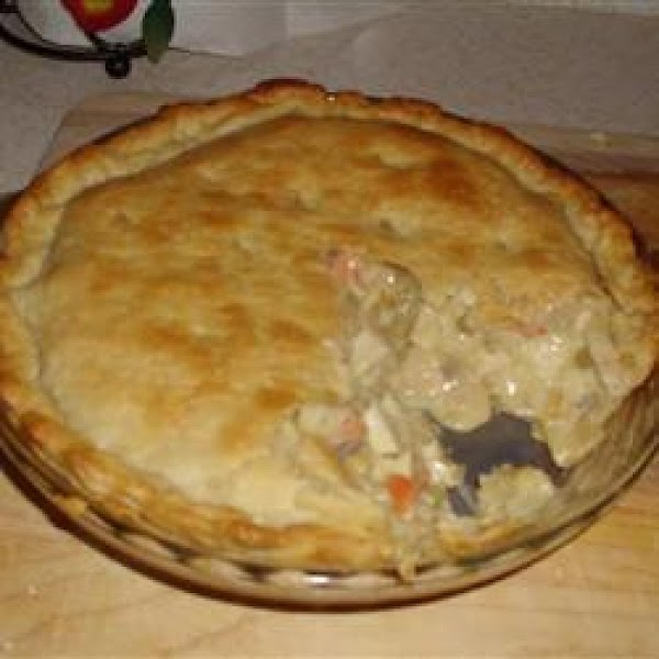 Chicken Pot Pie, Fast And Easy Recipe