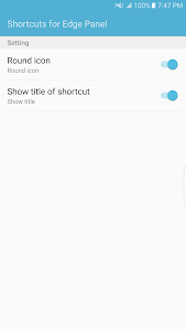 Shortcut Panel for S6, S7 Edge v1.1