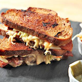 Pork Roll Rachel Sandwiches