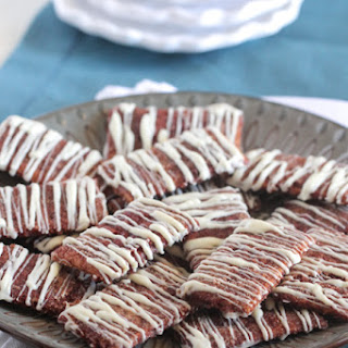 White Chocolate Churro Crackers