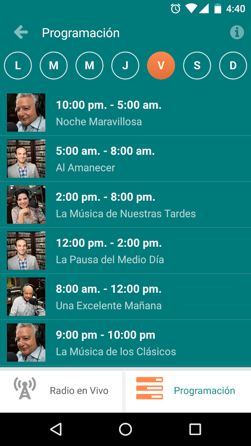 Raíces Radio- screenshot