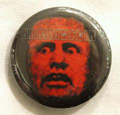 Rammstein - Scared - Badge