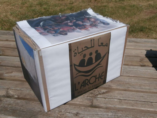 my charity box arche a bethleem mariage jean et caroline