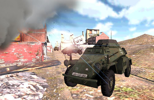 WW2 Armored Car