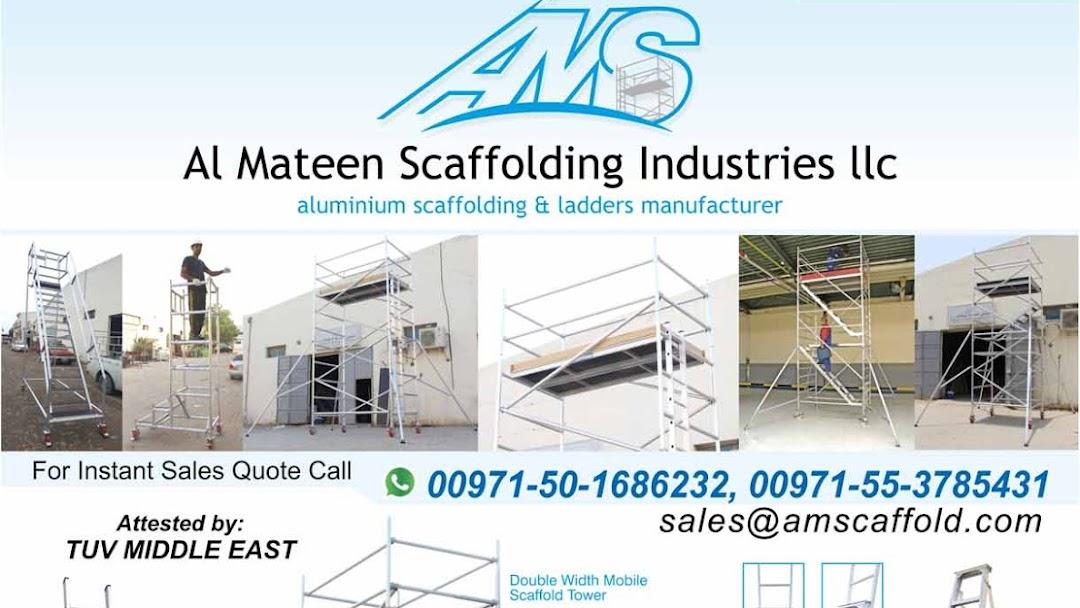 AMS Al Mateen Scaffolding Ind  LLC Dubai - Aluminium