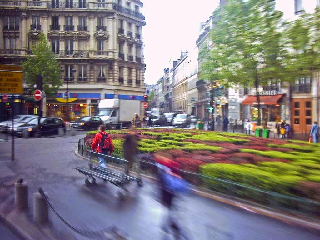 Photo: Paris in motion.