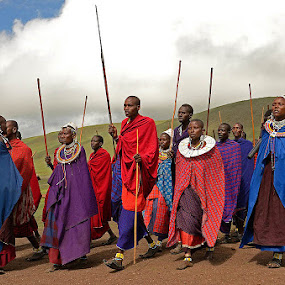 Massai Tribe by Andrew Morgan - People Street & Candids