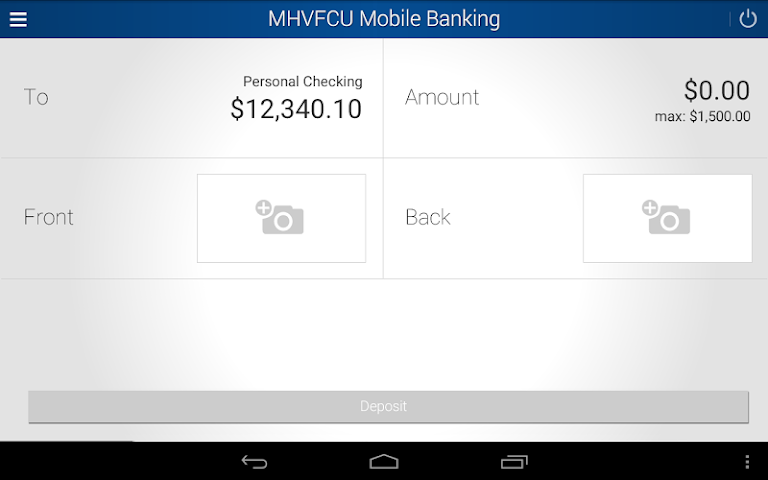 android MHV Mobile Banking Screenshot 9