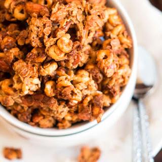 Peanut Butter Cheerio Granola