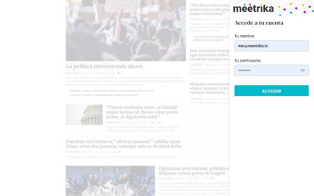 meetrika-web-extension