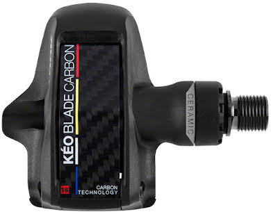 "Look KEO BLADE CARBON CERAMIC Pedals - Single Sided Clipless, Chromoly, 9/16"" alternate image 0"