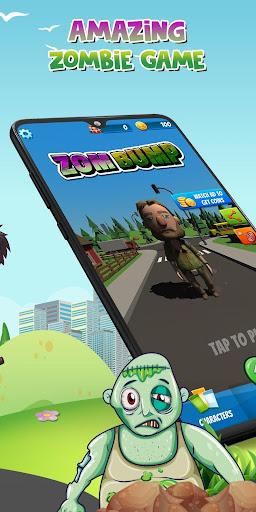 Zombump: Zombie Endless Runner 1.5 screenshots 2