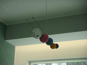 Photo: Lastenhuoneen lamppu.