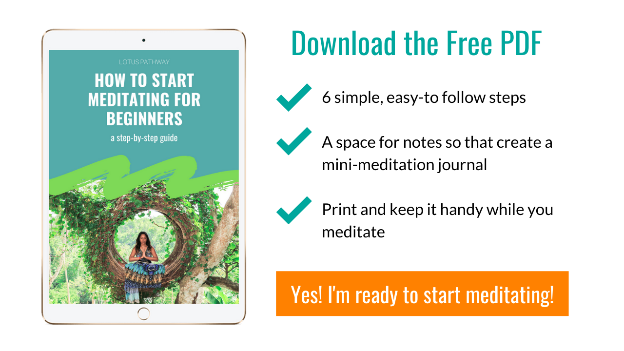 How to Start Meditating for Beginners Free PDF