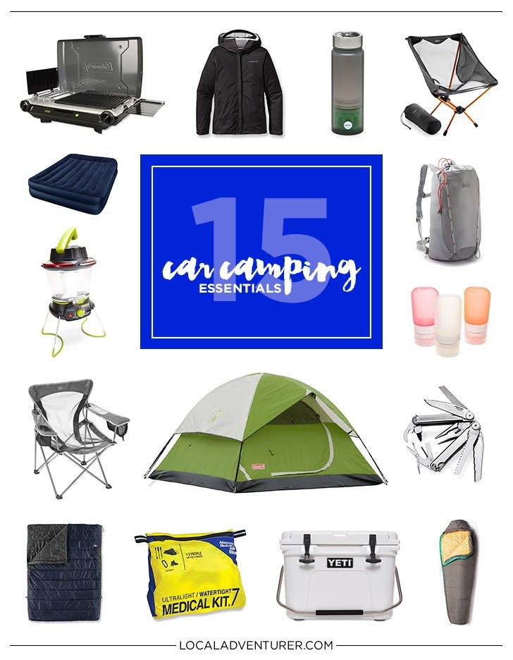 15 Car Camping Essentials for the Practical Traveler.