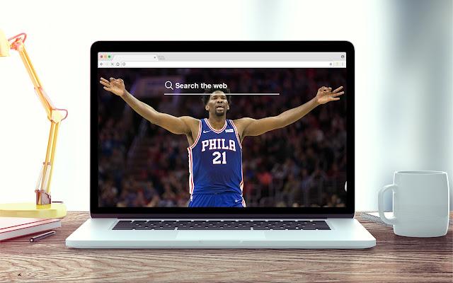 Joel Embiid HD Wallpapers NBA Theme