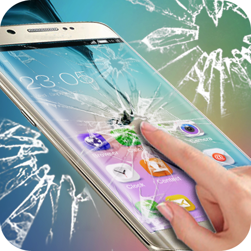 Cracked Screen pranks: Theme for Samsung S6