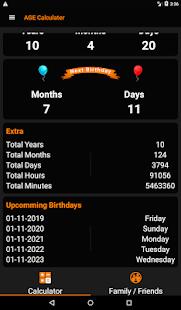 App Age Calculator - Birthday Calendar & Reminder APK for Windows Phone