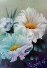 Photo: KP16 White Poppies (for 18 x 24 canvas) $6.99