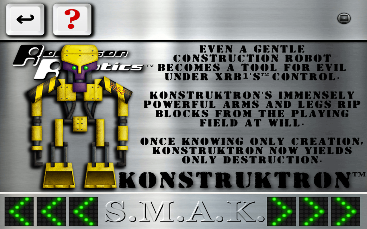 S.M.A.K. robots- screenshot