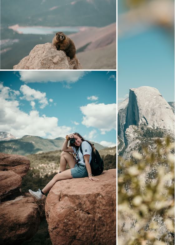 Mountain Collage - Photo Card Template
