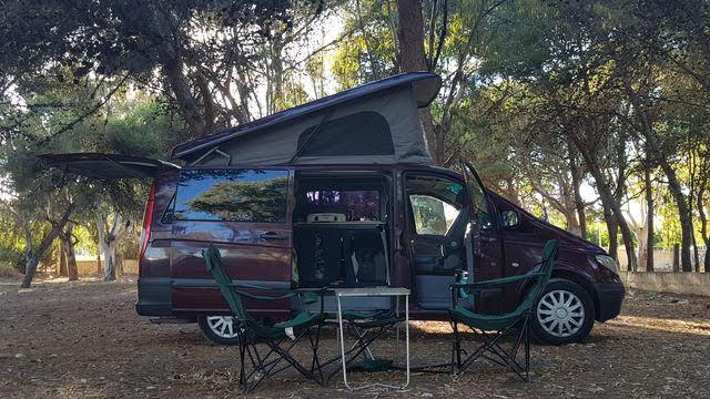 Venta de furgonetas camper con techo elevable reimo, westfalia en Zaragoza