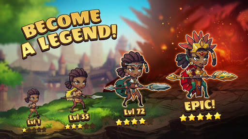 Mighty Party: Legends of Battle Heroes. apkpoly screenshots 2