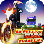 Ghost Bike Rider Icon