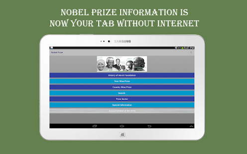 Nobel Prize- screenshot thumbnail