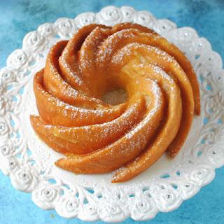 Peachy Lemon Bundt Cake