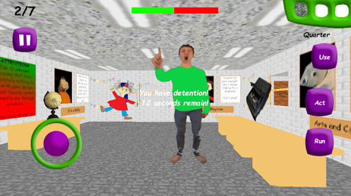 Math Crazy Teacher: Birthday Bash Badge Party Mod 1.0 screenshots 6