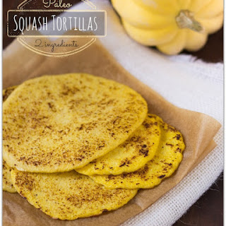 Acorn Squash Paleo Wraps / Tortillas (Gluten Free)