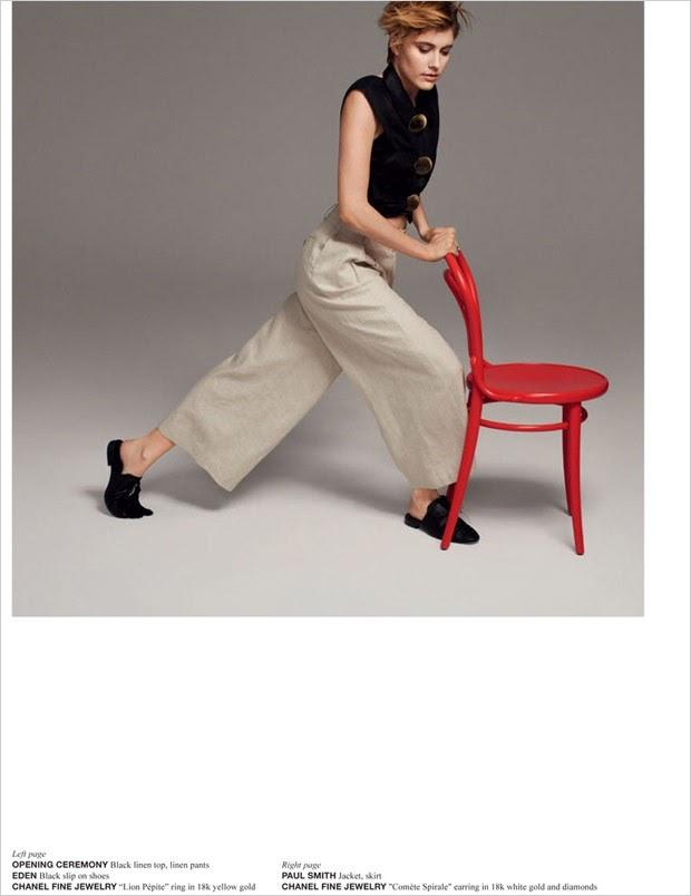 Грета Гервиг в фотосессии Crash Magazine фото 2