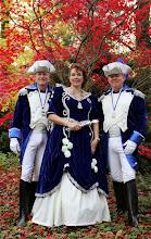 Photo: De Geinmakers. Prinses Gein de Vijfde. Adjudanten Rudy en Steef