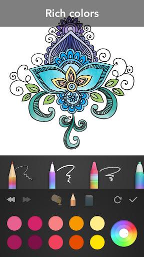 Mandala Coloring Book 3.1.4 screenshots 3